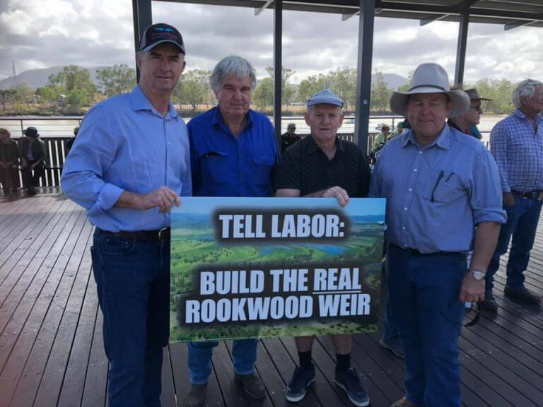 Build the real Rookwood Weir